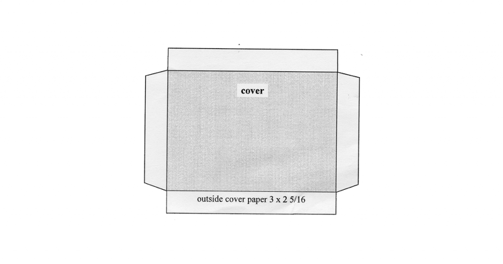 Accordion Book Template for Mini Cover