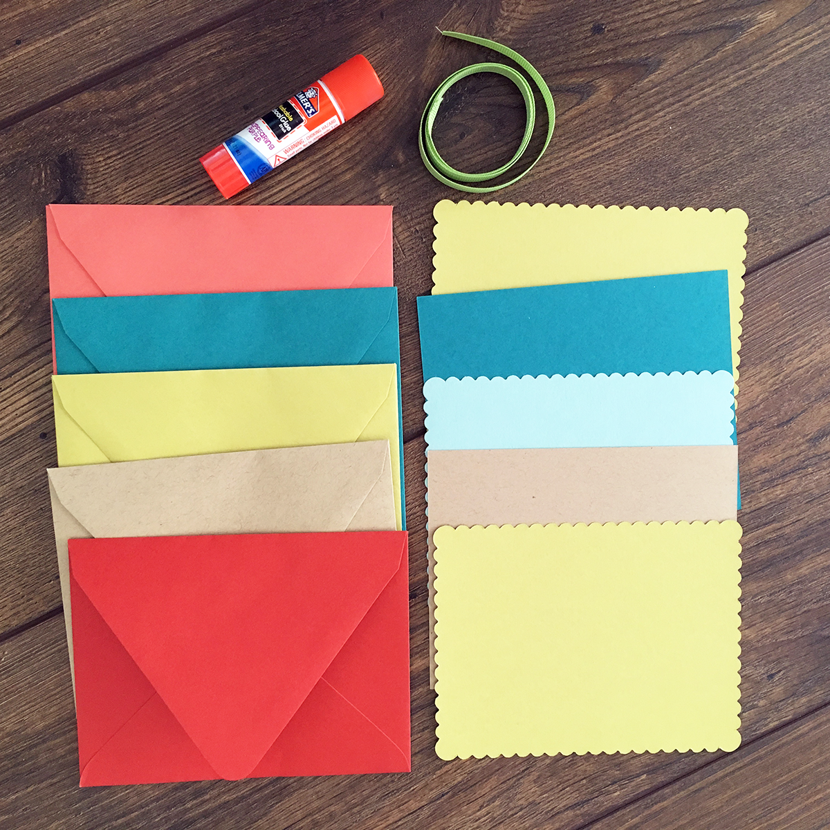 Accordion Envelope Book Materials